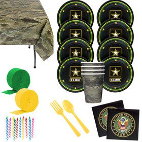 US Army Deluxe Tableware Kit (Serves 8)