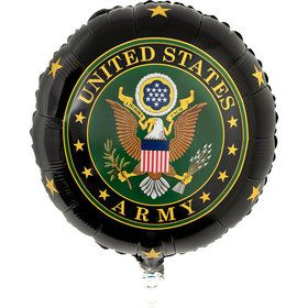 US Army Mylar Balloon with Crest (1)