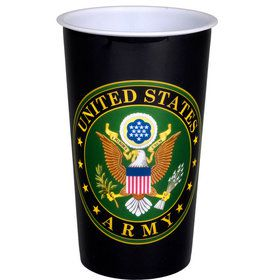 US Army Souvenir Cup with Crest (1)