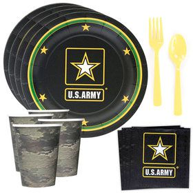 US Army Standard Tableware Kit (Serves 8)
