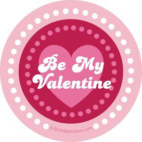Valentine Hearts Personalized Stickers (Sheet of 12)