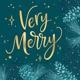 Very Merry Lunch Napkins (16)