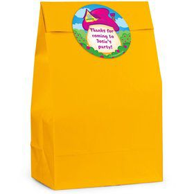 Village Friends Personalized Favor Bag (Set Of 12)