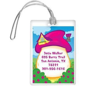 Village Friends Personalized Luggage Tag (each)