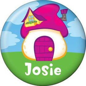 Village Friends Personalized Mini Button (each)