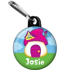 Village Friends Personalized Mini Zipper Pull (each)