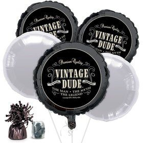 Vintage Dude Balloon Kit (Each)
