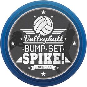 "Volleyball 7"" Cake Plate (8 Count)"