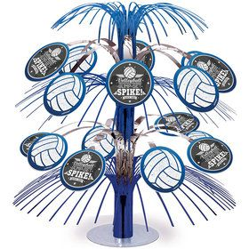 Volleyball Cascade Foil Centerpiece (Each)