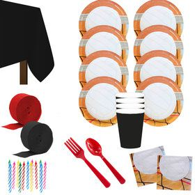 Volleyball Party Deluxe Tableware Kit (Serves 8)