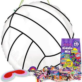 Volleyball Pull String Economy Pinata Kit