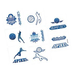 Volleyball Tattoos (16 Count)