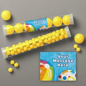 Water Fun Personalized Candy Tubes (12 Count)