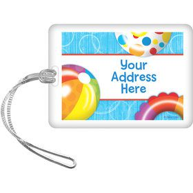 Water Fun Personalized Luggage Tag (Each)