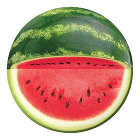 """Watermelon 7"""" Cake Plates (8 Count)"""