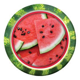 "Watermelon 9"" Lunch Plates (8 Count)"