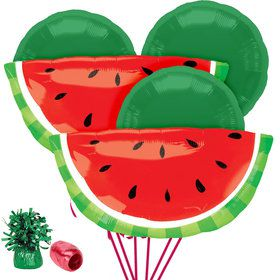 Watermelon Balloon Bouquet Kit
