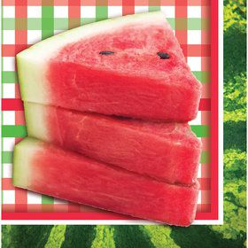 Watermelon Lunch Napkins (16 Count)