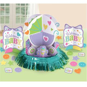 Welcome Baby Table Decorating Kit (Each)