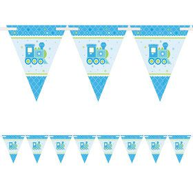 Welcome Little One Boy Pennant Banner (Each)