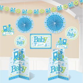 Welcome Little One Boy Room Decorating Kit (Each)