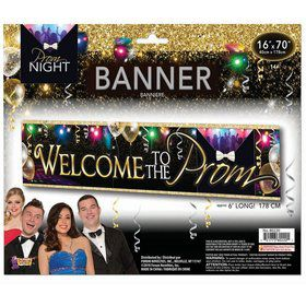 Welcome to the Prom Vinyl Banner