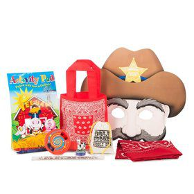 Western Cow Party Ultimate Favor Kit (Each)
