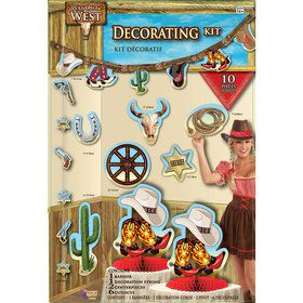 Western Decoration Kit (10 Pieces)