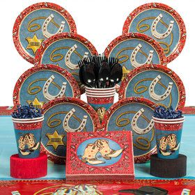 Western Deluxe Tableware Kit (Serves 8)