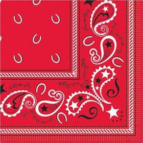 Western Luncheon Napkins (16 Pack)