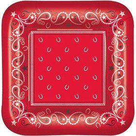 Western Luncheon Plates (8 Pack)