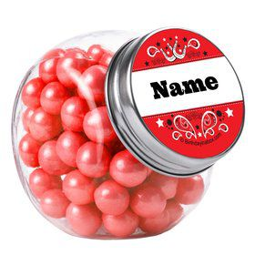 Western Personalized Plain Glass Jars (12 Count)