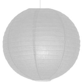 "White 10"" Paper Lantern Decorations (Each)"