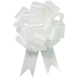 "White 5"" Pull Bow (10 Count)"