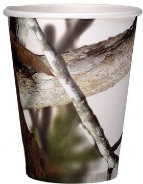 White Camo 12oz Cups (8 Pack)