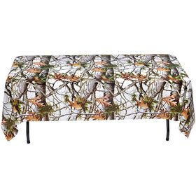 White Camo Table Cover (Each)