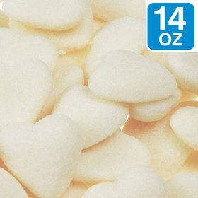 White Sour Hearts 14 oz Bag (Each)