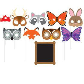 Wild One Woodland Photo Booth Props