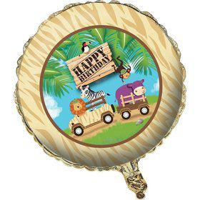 "Wild Safari 18"" Metallic Balloon (Each)"