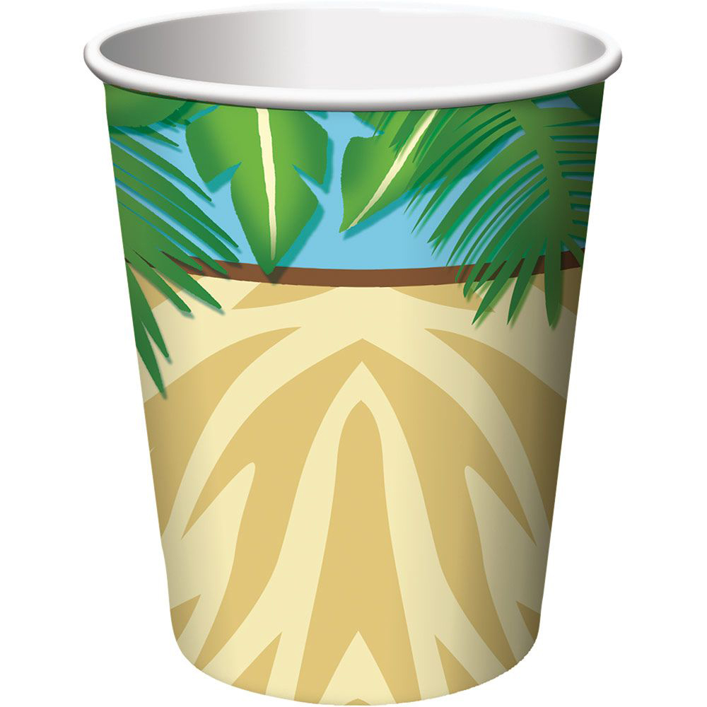 Wild Safari 9oz Cups (8 Pack) - Party Supplies BB375520