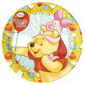 "Winnie the Pooh 9"" Lunch Plates (8 Count)"
