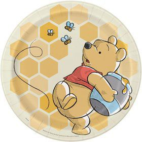 """Winnie the Pooh 9"""" Lunch Plates (8)"""