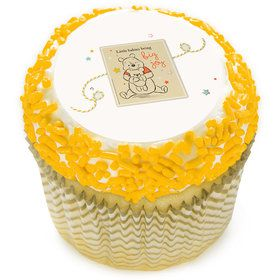 "Winnie the Pooh Baby Joy 2"" Edible Cupcake Topper (12 Images)"