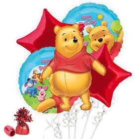 Winnie the Pooh Balloon Bouquet Kit