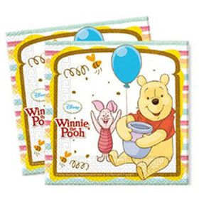 Winnie the Pooh Lunch Napkins (20 Count)