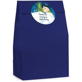 Winter Fun Personalized Favor Bag (Set Of 12)