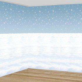 Winter Scene Wall Decoration (Each)