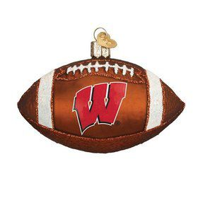 Wisconsin Football Ornament