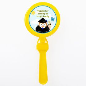 Wise Owl Grad Personalized Clappers (Set of 12)