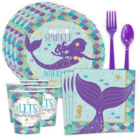 Wishful Mermaid Standard Tableware Kit (Serves 8)